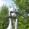 Памятник рождение счастья в Омске